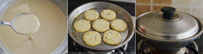 How to make millet paniyaram - Step4
