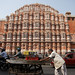 Hawa Mahal and the street crowd