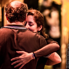 Johanna and Angelo, Tango Bar, March 2014