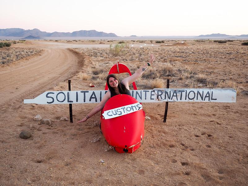 Akatuki in Solitaire, Namibia