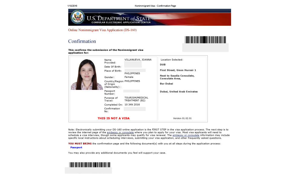 How to Apply a US Visa for Filipinos from Dubai? - The Moment ... Ds Form Sample For Student on dd 214 form sample, i-864a form sample, i-94 form sample, vehicle accident form sample, i-9 form sample, i-129 form sample, i-130 form sample, i-134 form sample, passport form sample, i-20 form sample, leave form sample, ds-261 form sample, k-1 visa application form sample, i-90 form sample, change of status form sample, affidavit of support form sample, i-765 form sample, ds-260 form sample, admission form sample, i-485 form sample,