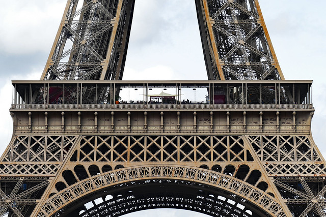 Paris: Eiffel Tower first stage