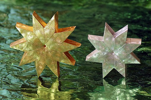 Origami Noria Star (8 and 10 units)  (Aldos Marcell)