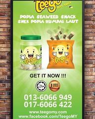 Re stocks product Teego at Puncak Alam. @teegomy #selangor #halal #kids #eventplanner #marketchannel #mycybersale #sale