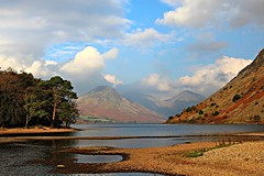 The Wastwater shoreline