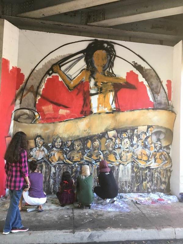 Little Rock,AR 2016 Peace Week Mural Project (8)