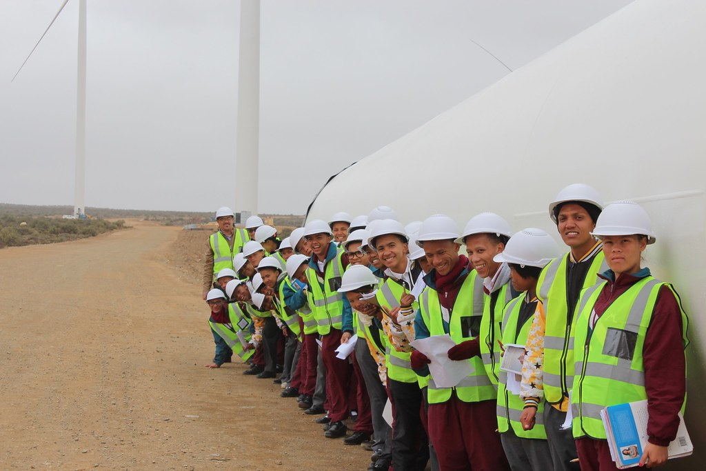Loeriesfontein Wind Farm Career Day