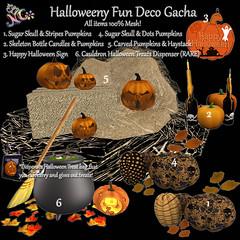Halloweeny Fun Deco Gacha