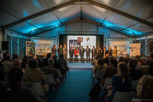EL 30 ANIVERSARIO DE LA RUTA DE LA SAL PRESENTADA EN EL SALON NAUTICO INTERNACIONAL DE BARCELONA 2016
