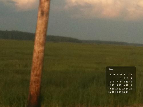 May 2013 Calendar (Marsh)