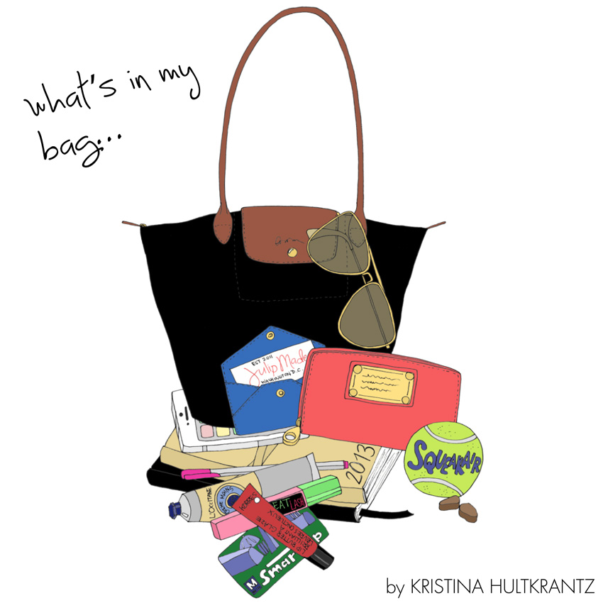 Julip Made what's in my bag by Emma Kisstina