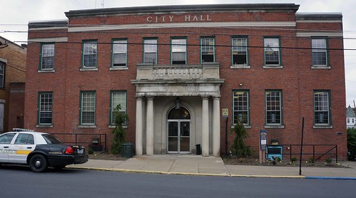 Renovations will begin soon on the 40-year-old Pittston City Hall, modernizing the exterior façade and upgrading the building to make it handicap accessible by adding an elevator. USDA photos.