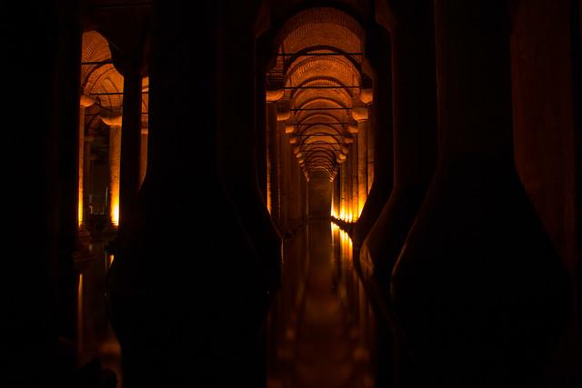 The Basilica Cistern - Istanbul, Turkey