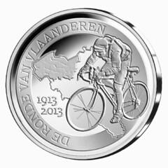 Belgium tour of Flanders obverse