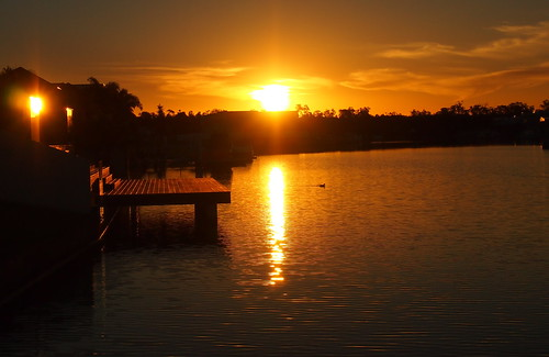 GOLDEN BEACH SUNSET-.caloundra