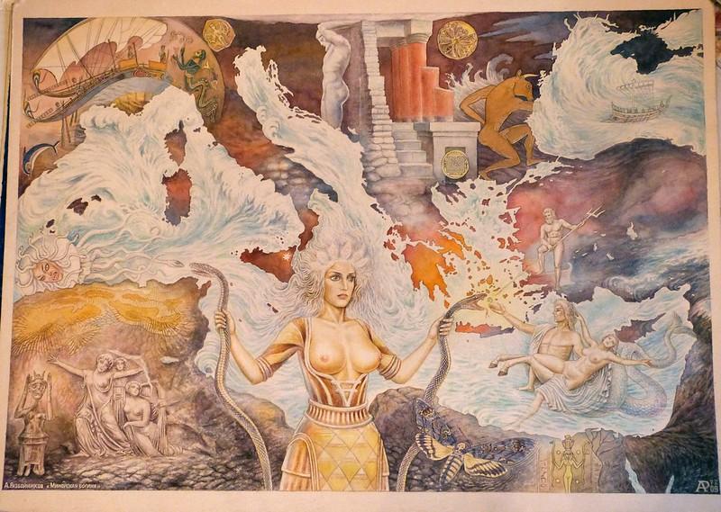А.Разбойников Минойская богиня