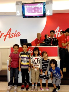 checking in @ Kidzania