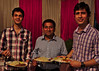 Arjun, Manu and Rakesh