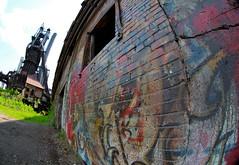 Graffiti at Carrie Furnaces, Rankin PA