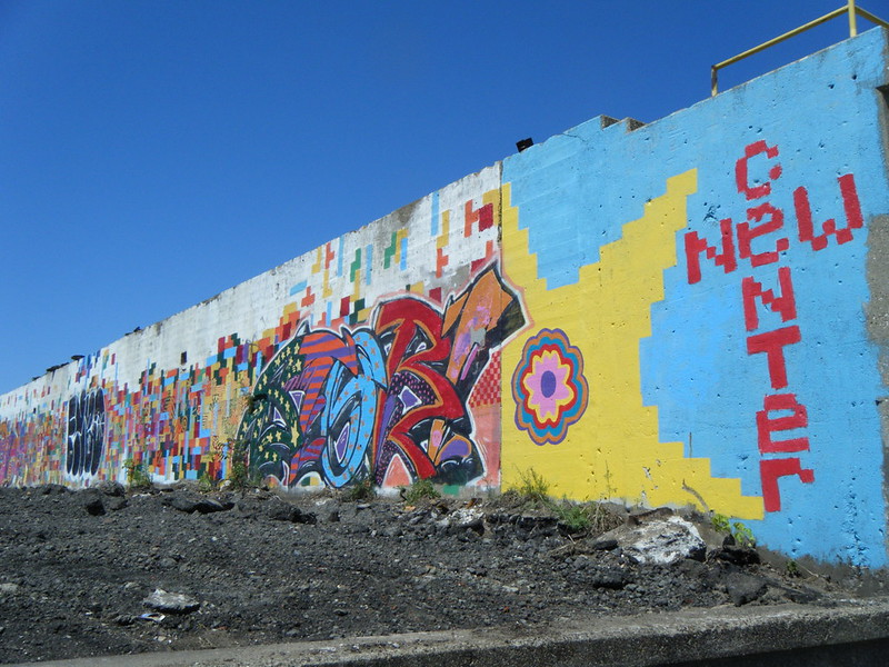 New Center mural
