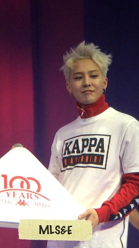 G-Dragon - Kappa 100th Anniversary Event - 26apr2016 - MyLadies - 04