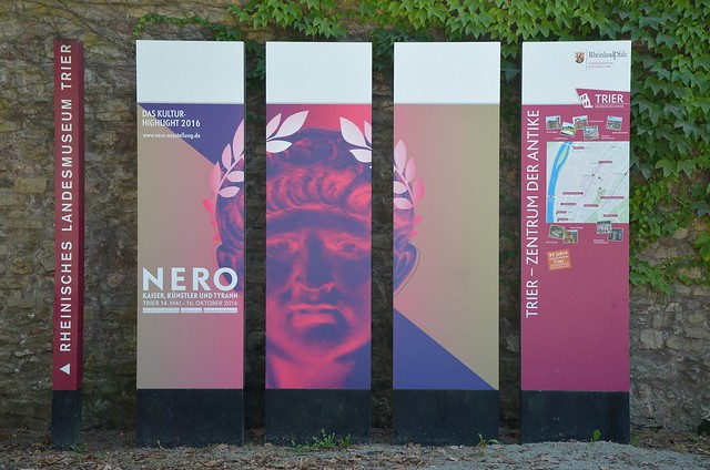 """Nero  – Emperor, Artist and Tyrant"", Trier, Germany"