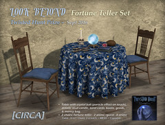 LOOK BEYOND - Fortune Teller Set - Twisted Hunt Prize Sept '16