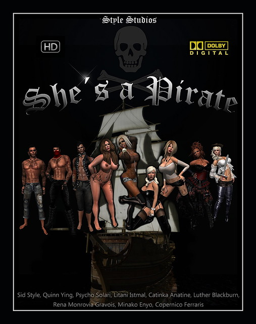 "movie poster "" she´s a pirate"""