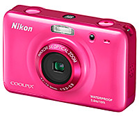 Nikon COOLPIX S30: 10.1 megapixels, 3x optical zoom.