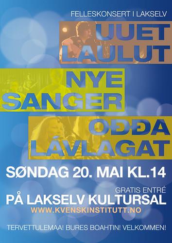 Uuet laulut - Ođđa lávlagat - Nye sanger -felleskonsert 2012