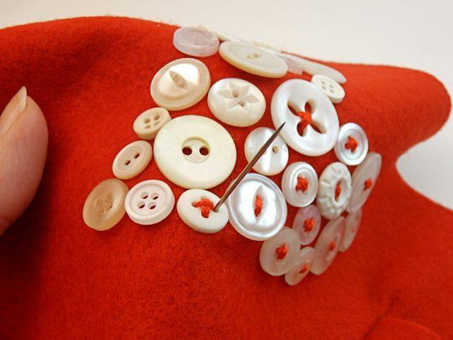 button-sewing