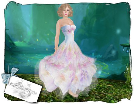 ~*~Shar's Gowns~*~Spring Fields sky gown, 49 lindens by Cherokeeh Asteria