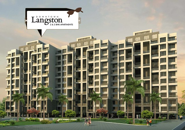 Kolte-Patil Downtown - Langston, 2 BHK Flats, for All Inclusive Property Price of Rs. 62 Lakhs Onward, at Kharadi, Pune 411014 - 4