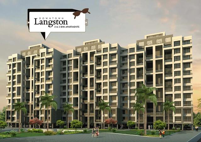 Kolte patil downtown langston kharadi pune brochure for Langston builders