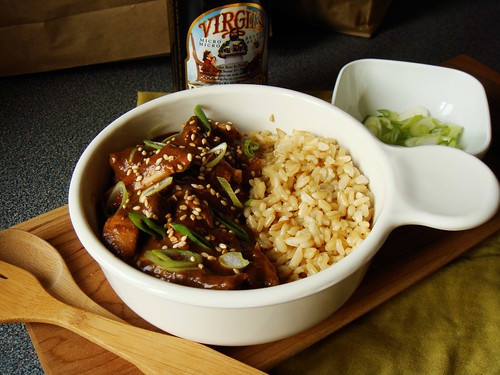 Mole Chicken Chili with Brown Rice