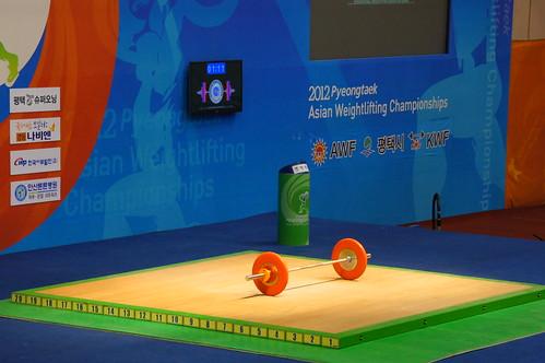 2012 アジア選手権の写真