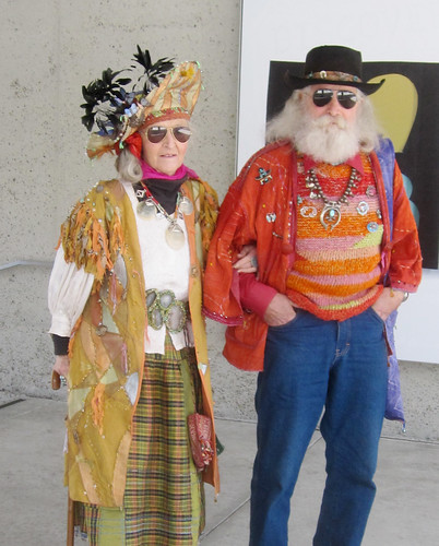 Oakland Hippy Couple