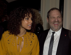 WHCA DINNER Alicia Keys, Harvey Weinstein