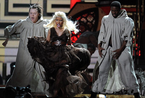 Nicki Minaj 2012 GRAMMY AWARDS 16