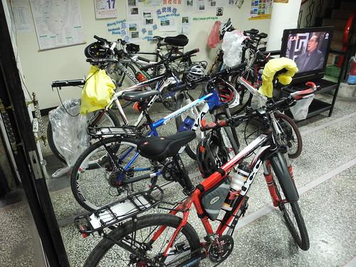 Dawu Hotel Bikes