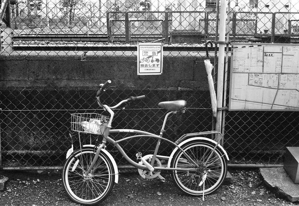 自転車糖放置禁止区域1