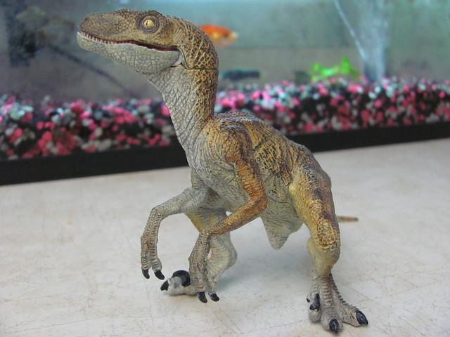 Papo velociraptor full body
