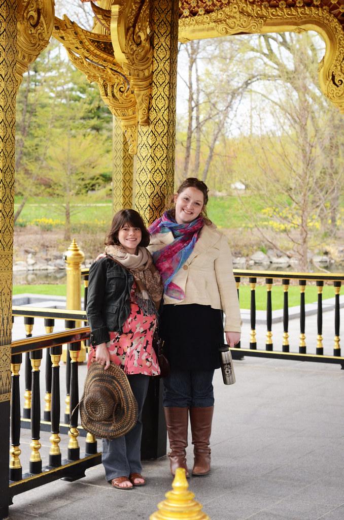 Kelli and Catherine