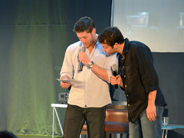 Jensen Ackles Amp Misha Collins Flickr Photo Sharing