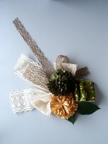 Dandelion corsage