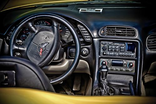 Corvette inside