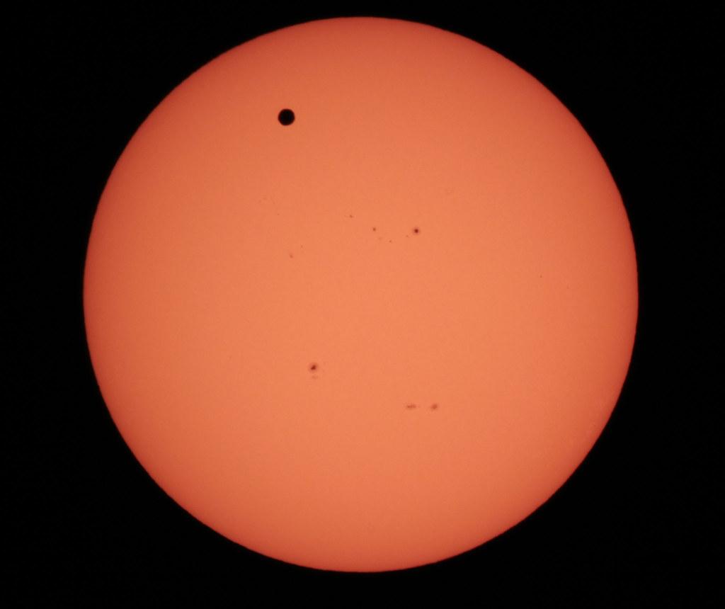Venus Transit, June 5, 2012
