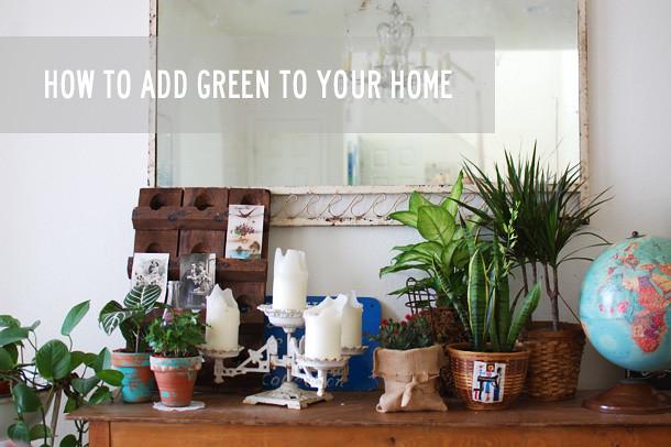 adding green