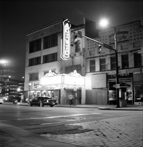 Civic Theater at Night