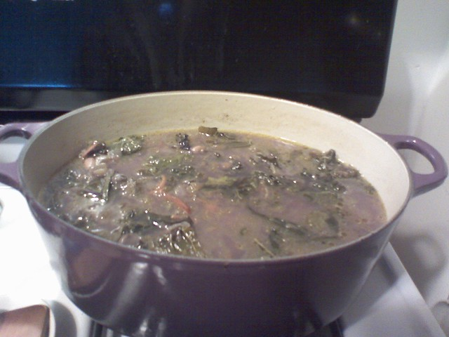 Time for New Food in the Fridge Soup!
